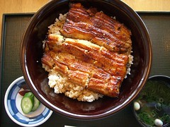 Japanese cuisine; Una-Don; eel bowl;うな丼、鰻丼