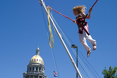 Bungee Jumping Downtown Denver