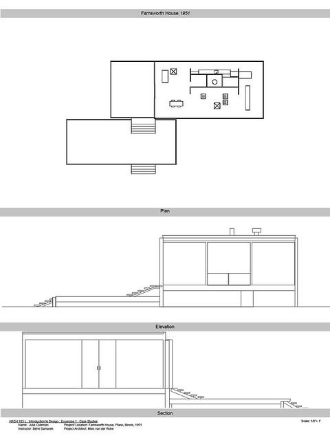 Farnsworth House Plans Flickr Photo Sharing