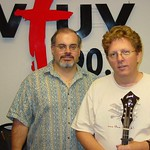 Tim O'Brien at WFUV with Darren DeVivo