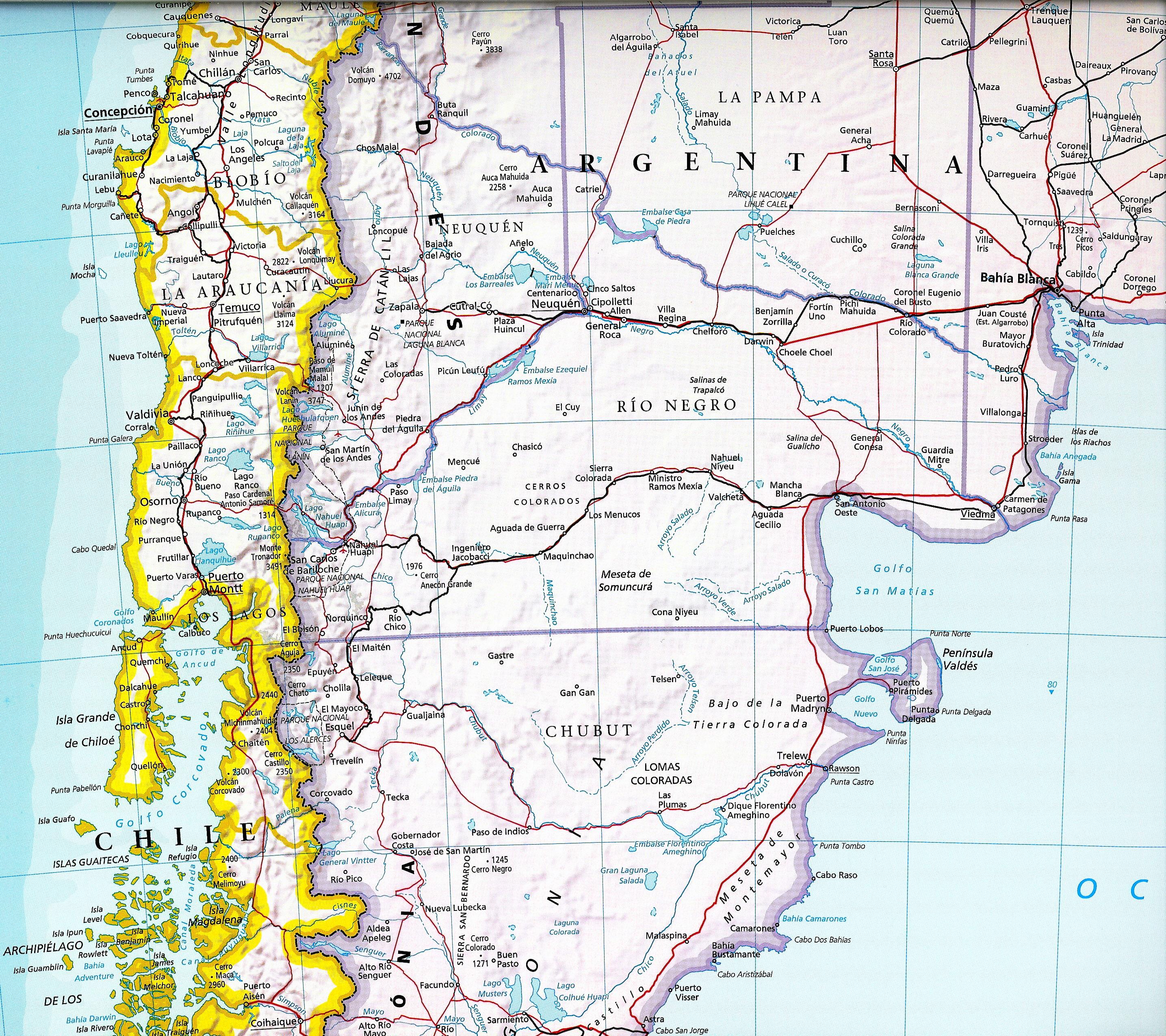 Mapa Am rica del Sur Am rica do Sul South America map Flickr Photo Sh