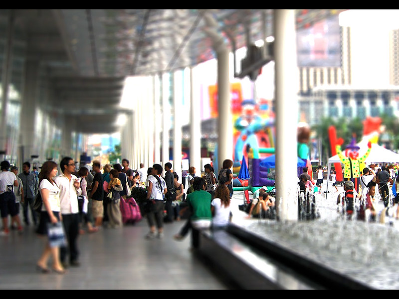 In front of Central World