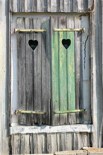 Heart Shutters by GenevaLife