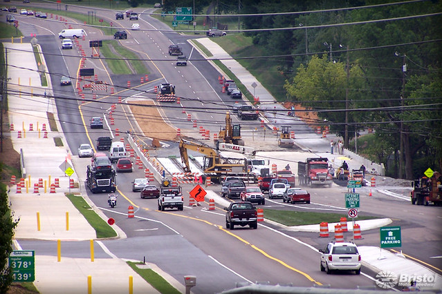 Hwy 11e Volunteer Parkway Construction Construction
