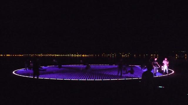 BADco in Zadar: Greeting to the Sun installation