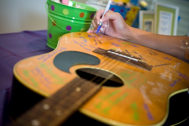 Guitar Signing