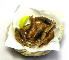 Greek fried fish