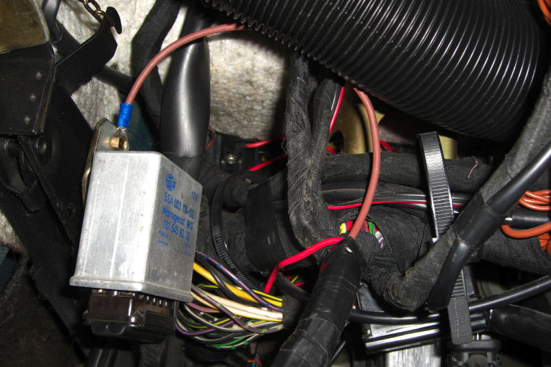 How-to  Get The Rear Foglight S  Working On A Us W123  Lots Of Photos