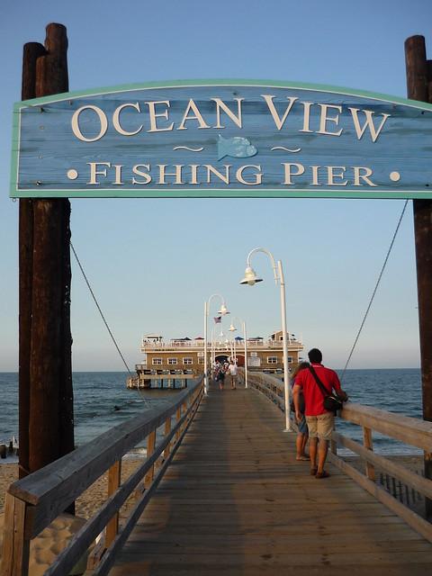 Ocean view fishing pier norfolk virginia flickr for Ocean view fishing pier