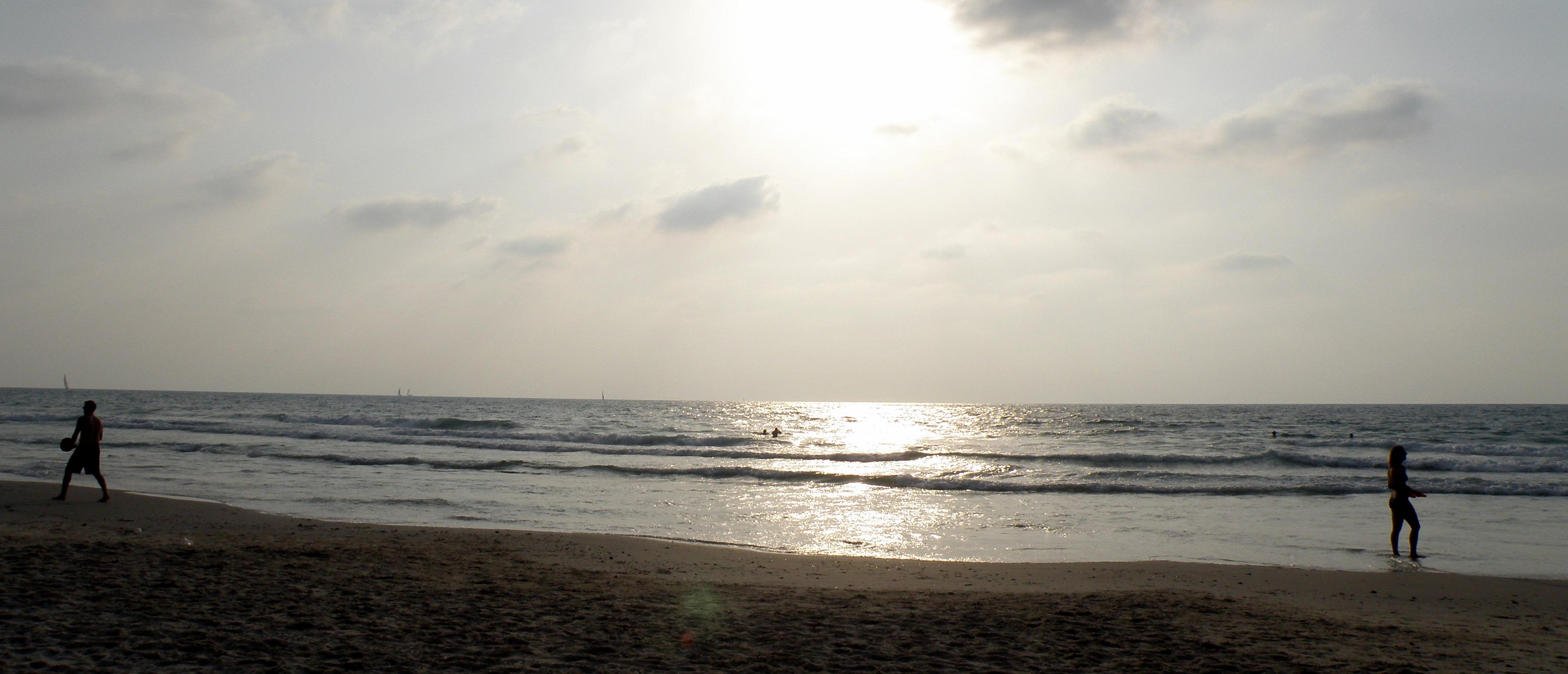 Herzliya Israel  city pictures gallery : Herzliya Beach, Israel | Flickr Photo Sharing!