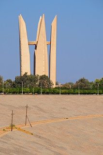 Soviet-Egyptian Monument at High Dam