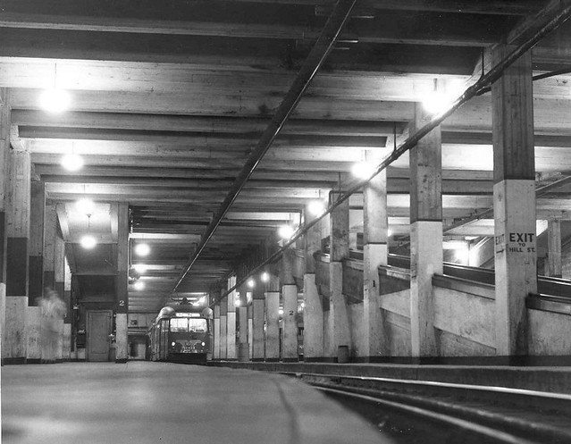 Subway Terminal, Track Level