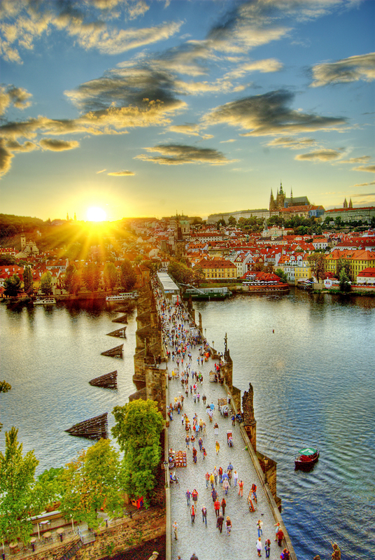 Lets go for a walk in the beautiful Prague