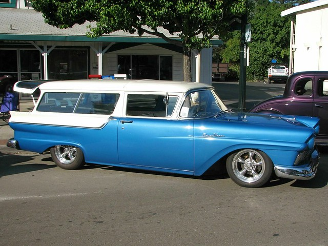 1957 Ford 2 door Ranch Wagon (Custom) '5PCB986' 1