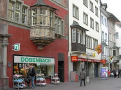 Shopping Street in Schaffhausen