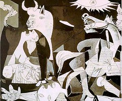 Image of Picasso's Guernica