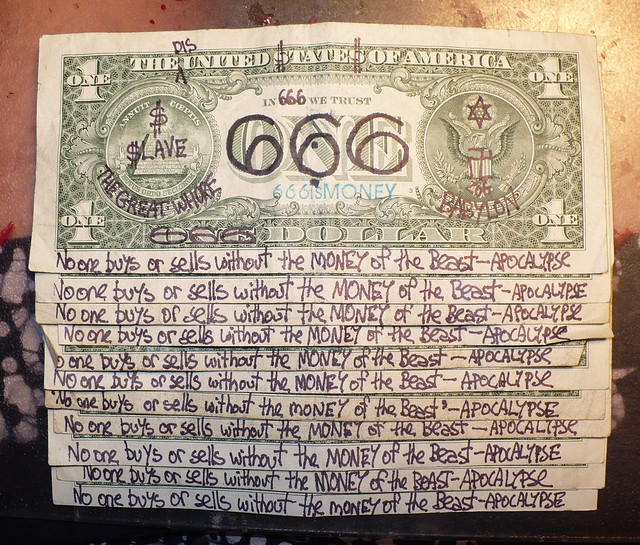 666isMONEY / 66... Euro Bill