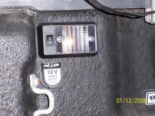 Install 12v Socket In Truck Bed
