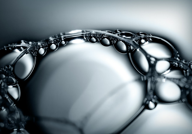 Bubble study - Mindblowing Macro Photography