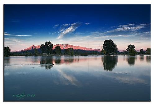 blue sunset arizona cloud lake southwest nature clouds photoshop landscape landscapes desert sony h2o cs4 dslra350 dslr350 lgeof