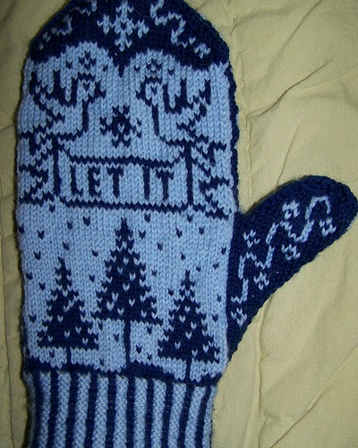Day 4/365 - Unblocked Snowbird Mitten