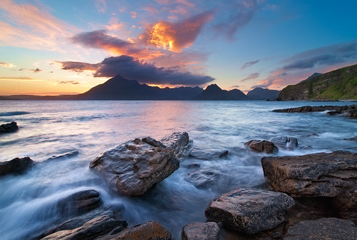 sunset vacation skye nature landscape scotland spring highlands isleofskye hiking urlaub natur landschaft frühling schottland elgol