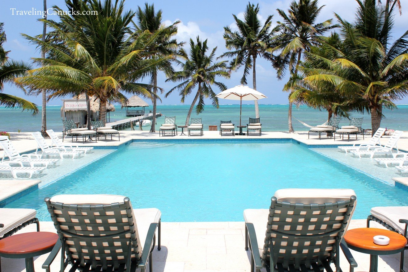 Pool at Victoria House, Ambergris Caye, Belize