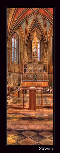 Altar in Pfarrkirche Mariasdorf