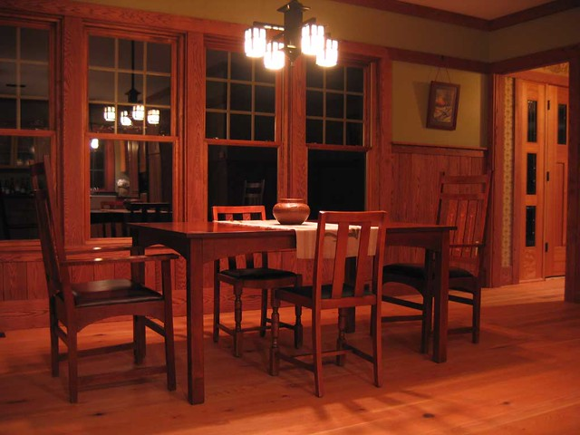 Stickley Craftsman House 24 Dining Room An Updated