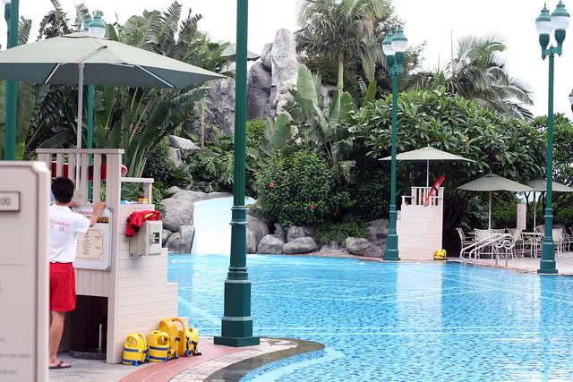 Hong Kong Disneyland Hotel Pool Flickr Photo Sharing