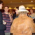 Mon, 18/11/2002 - 9:38pm - Dan Bern chats with WFUV members after his Marquee event performance