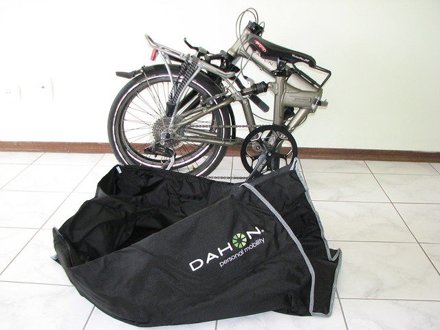 Dahon Bag El Bolso http://www.flickr.com/photos/wagnergumz/2592780511/