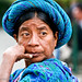 Native lady in Antigua, Guatemala