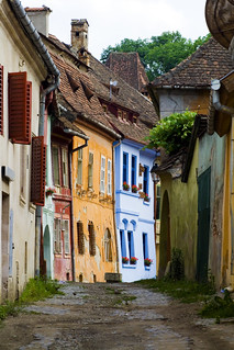Sighisoara - The birth place of Vlad Tepes aka DRACULA