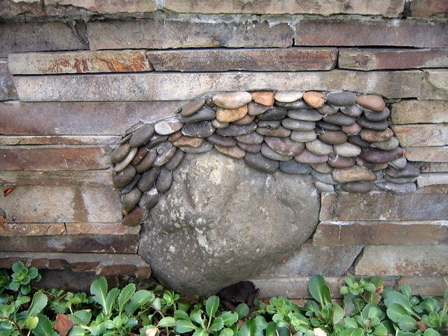 Flickr photo sharing for River rock wall
