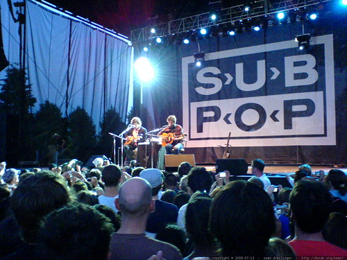 flight of the conchords @ subpop 20   DSC01510