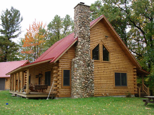Photo for Stone and log home designs
