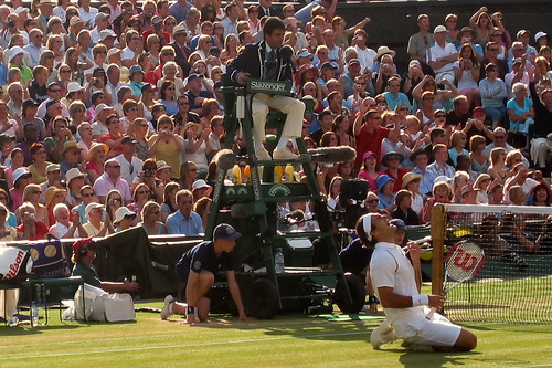 Wimbledon Final 2007 - the end