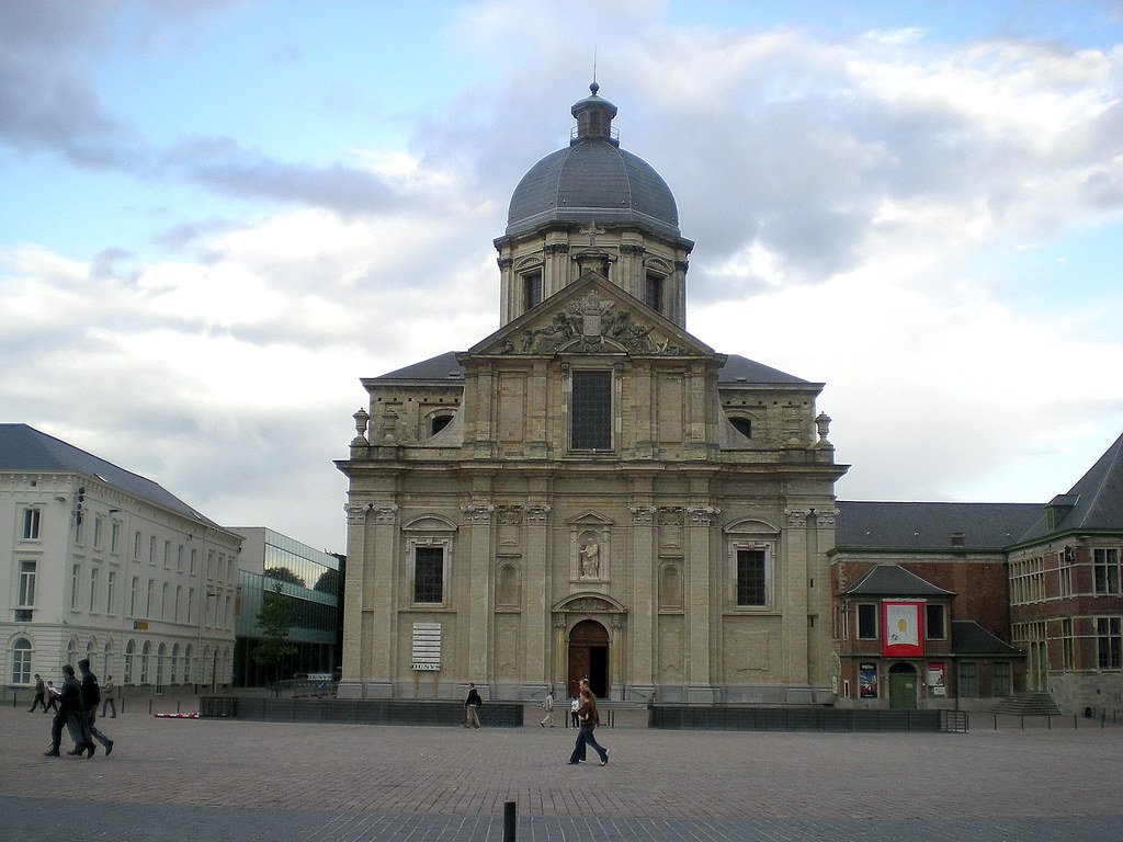 Gent Sint Pietersabdij Gent Sint-pieterskerk