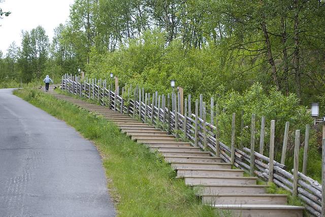 Stairs to Juhls Silvergallery