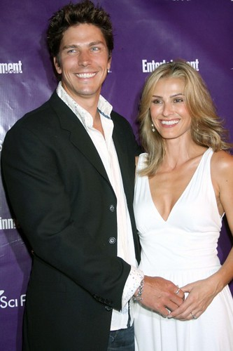 July 26, 2008: Michael Trucco and Sandra Hess attending the Entertainment ...