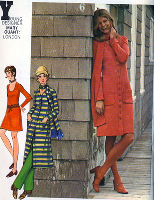 Butterick Young Designers Sewing Patterns, Quant, Betsey