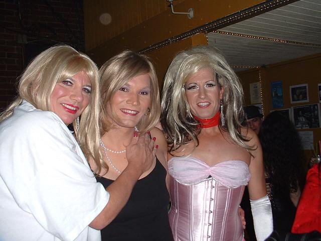Flickr Crossdressers in Halloween Costumes