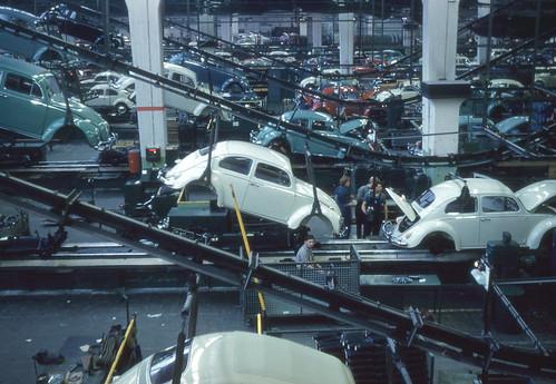Wolfsburg - Volkswagen Assembly Line