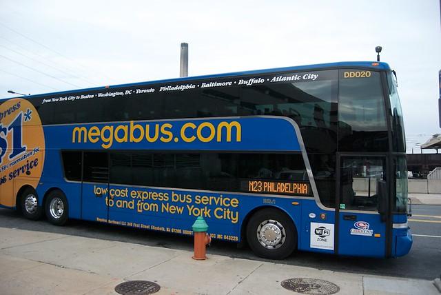 Megabus to NYC