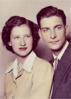 Mildred and Robert Nelson, 1943