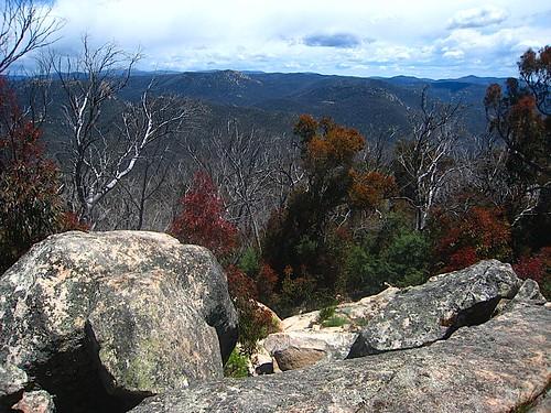 mountains view brindabellas