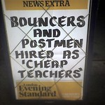 Bouncers and Postmen Hired As Cheap Teachers