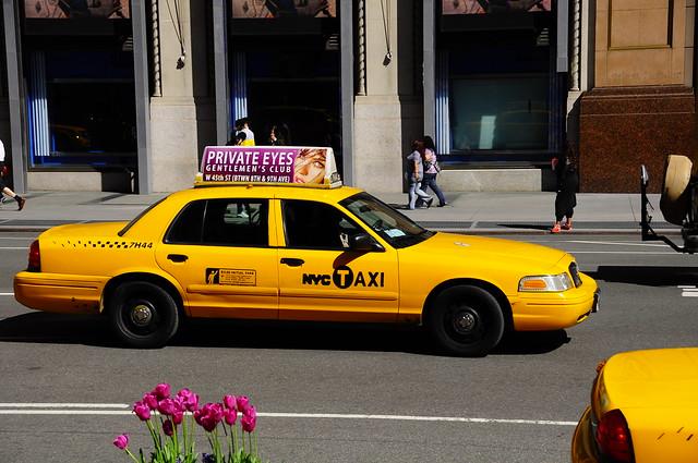 The yellow cab in naga city