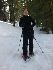 skiing(0.0), ski mountaineering(0.0), cross-country skiing(0.0), nordic skiing(0.0), snowshoe(1.0), ski equipment(1.0), winter sport(1.0), footwear(1.0), winter(1.0), ski(1.0), sports(1.0), snow(1.0), outdoor recreation(1.0), ski touring(1.0), hiking equipment(1.0),